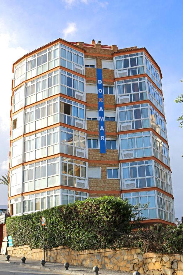 Vista general exterior - Apartamentos Doramar