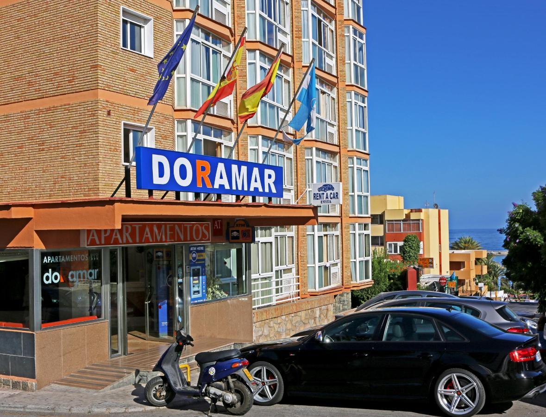 Puerta de acceso - Apartamentos Doramar
